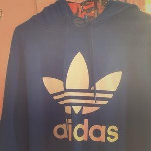 Adidas originals throwback hoodie